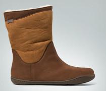 Schuhe Bootie im Material-Mix