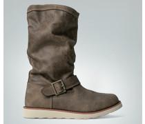 Damen Schuhe Stiefel aus Nubukleder