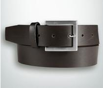 Damen Gürtel Ledergürtel in klassischem Design