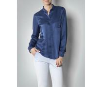 Damen Hemd-Bluse im Seiden-Mix