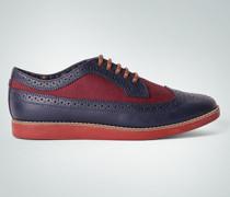 Damen Schuhe Sneaker im Brogue-Look