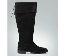Damen Schuhe Stiefel mit Zierschnürung