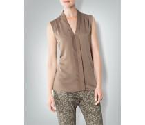 Damen Blusen-Top mit Falten-Details
