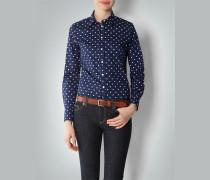 Damen Bluse mit Polka Dots