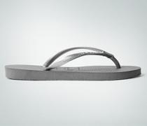 Damen Schuhe Zehensandale mit glitzerndem Stein