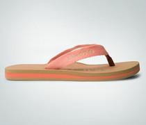 Damen Schuhe Strandsandalen mit Lederzehensteg