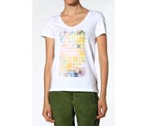 T-Shirt, Baumwolle, mit Motiv