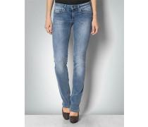 Jeans in geradem Schnitt