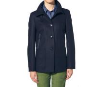 Damen Jacke Wollmischung marine