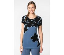 Damen Sleepshirt Modal schwarz-