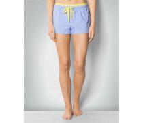 Damen Nachtwäsche Shorts im Allover-Dessin