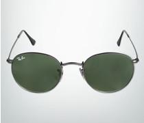 Brille Sonnenbrille Round Metal