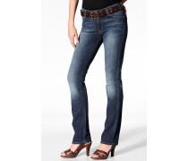 Damen Jeans 'Marion Straight' Regular Straight Baumwolle-Stretch poppy fresh