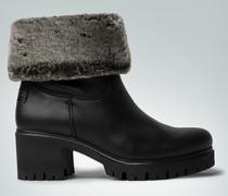 Damen Schuhe Stiefel mit Kunstfell