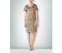 Damen Kleid mit Camouflage-Muster