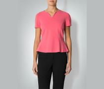Damen Shirt-Bluse mit Schößchen