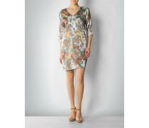 Damen Kleid aus Seidenstretch mit Paisley-Dessin