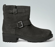 Damen Schuhe Stiefelette im Biker Boots-Design