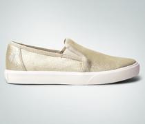 Schuhe Slip Ons in Cracked Metallic