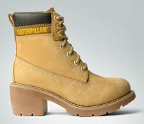 Damen Schuhe Stiefelette mit mittelhohem Absatz
