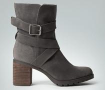 Schuhe Stiefeletten in Veloursleder