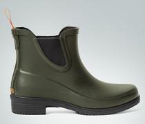 Damen Schuhe Gummistiefel mit seitlichen Stretch-Einsätzen