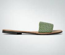 Damen Schuhe Sandale mit Flecht-Steg