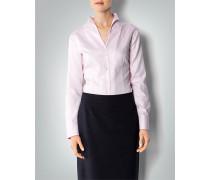 Damen Bluse mit Tulpenkragen