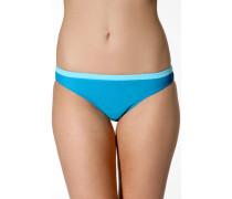 Damen Bademode Bikini-Slip mit gepunktetem Bund