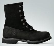 Damen Schuhe Stiefelette aus Leder