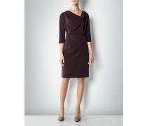 Damen Kleid mit Wasserfall-Ausschnitt