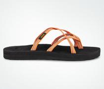 Schuhe Zehensandaletten mit überkreuzten Riemen