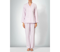 Nachtwäsche Pyjama im karierten Design