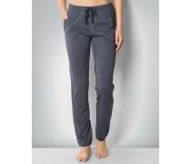 Damen Nachtwäsche Pyjama-Pants im Allover-Dessin