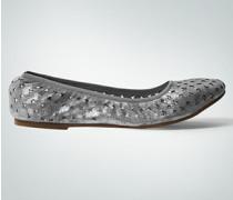 Damen Schuhe Ballerinas mit Logo-Cut-Outs