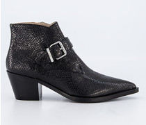 Schuhe Ankle Boots mit Schließe