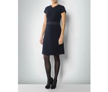 Damen Jerseykleid mit Strukturstreifen