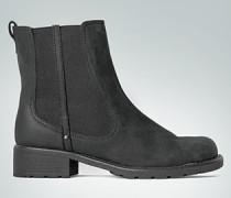 Schuhe Chelsea Boot aus Velours- und Glattleder