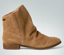 Damen Schuhe Stiefelette mit Over Size Schaftrand