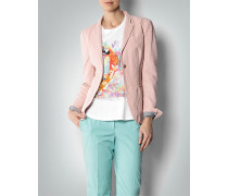 Damen Blazer in Leinen-Optik