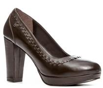 Damen Schuhe Pumps Nappaleder testa di moro