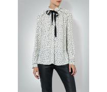 Damen Bluse mit Schleifendetail