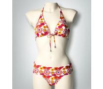 Damen Bademode Bikini-Set mit floralem Print