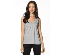 Damen T-Shirt Top Baumwolljersey hell