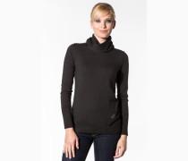 Damen Pullover Wolle grau