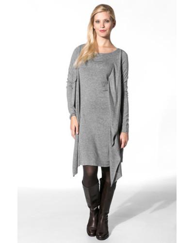 Damen Kleid Lyocell-Wolle meliert