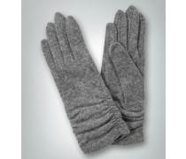Damen Handschuhe in leicht gewalkter Optik