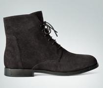 Schuhe Schnürstiefeletten aus Leder