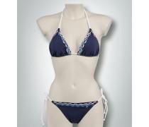 Damen Bademode Bikini mit abstraktem Muster