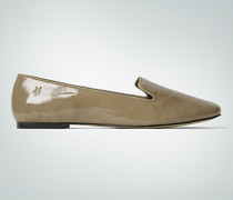 Damen Schuhe Ballerina, Lackleder,